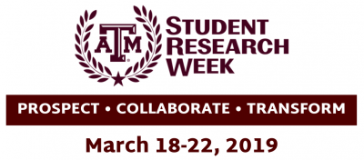 Student Research Week Logo